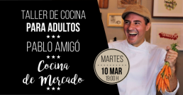 Taller de cocina con Pablo Amigó